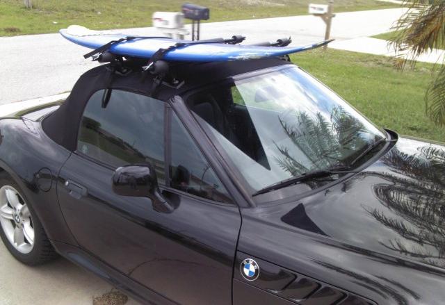Gutterless Surfboard Roof Racks Justsurfrax Com